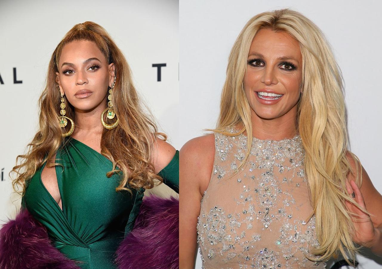 <p>Beyoncé turned 38 on September 4, which means she's just a few months older than Britney—who celebrated her 38th birthday on December 2.</p>