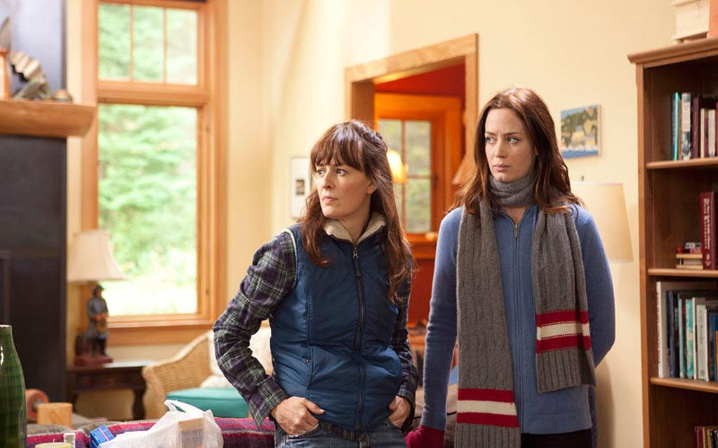 """<a href=""http://movies.yahoo.com/movie/your-sister-s-sister/"">Your Sister's Sister""</a> (June 15): In Lynn Shelton's smart, contemporary family dramedy, Emily Blunt and Rosemarie DeWitt play half-sisters whose rivalry comes to a head when the latter beds the former's geeky best friend (Mark Duplass) at a remote cabin."