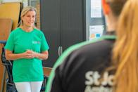 <p>Sophie, Countess of Wessex, made her first in-person appearance since the coronavirus outbreak began. The Countess joined volunteers at St. John Ambulance Operational Support Hub, helping organize deliveries and package PPE shipments to people on the front lines of the pandemic.<br></p>