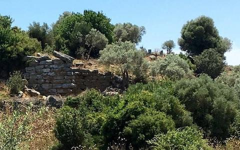 A wall remaining in the ancient city of Bargylia - Credit: Hwhorwood/Wikipedia