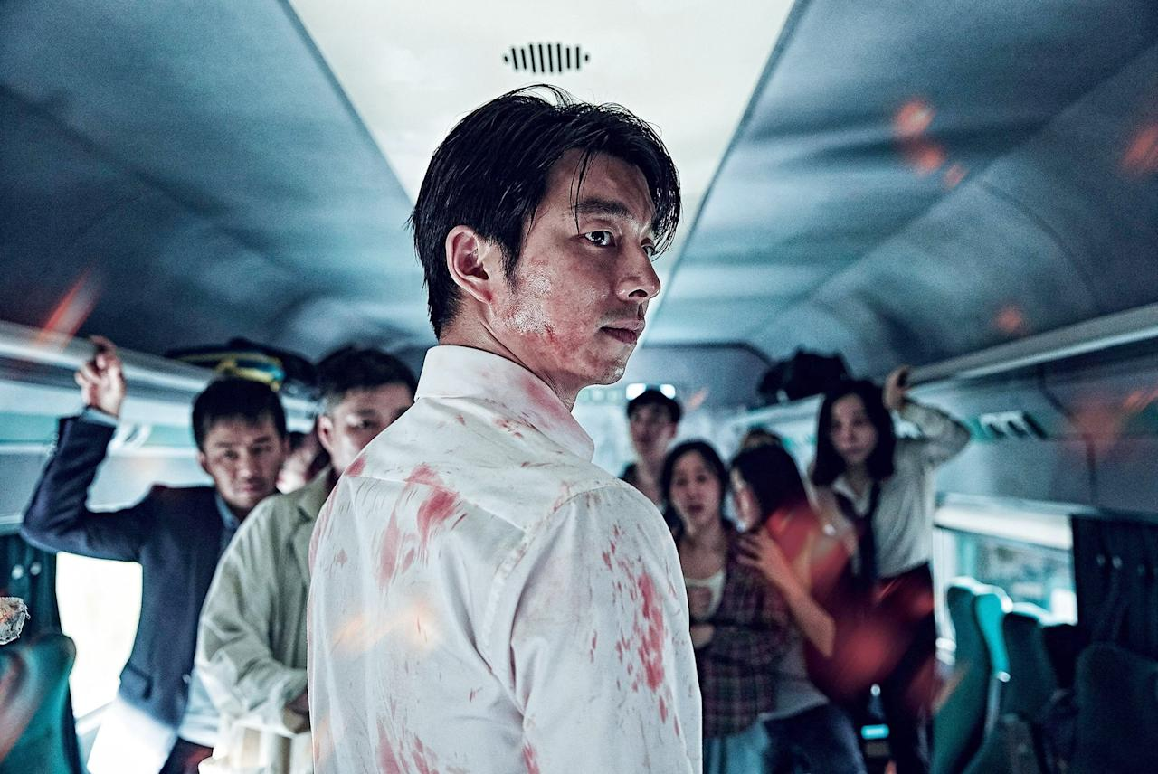 """<p>So you've seen all the American zombie thrillers, eh? If you haven't checked out South Korea's <b>Train to Busan</b>, prepare to have your mind blown . . . or perhaps eaten by the undead.</p> <p><a href=""""https://www.netflix.com/title/80117824"""" target=""""_blank"""" class=""""ga-track"""" data-ga-category=""""Related"""" data-ga-label=""""https://www.netflix.com/title/80117824"""" data-ga-action=""""In-Line Links"""">Watch it now</a>.</p>"""