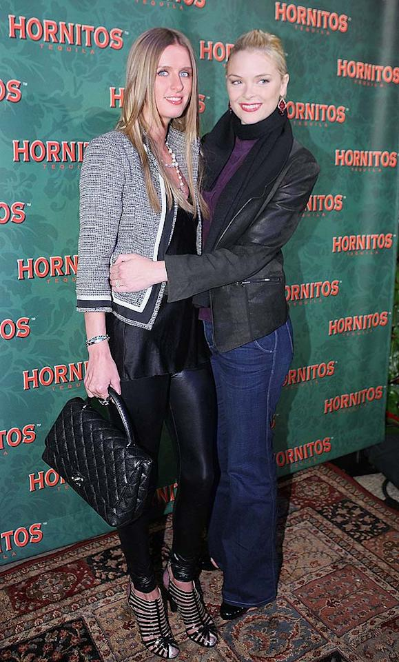 "Who knew that Nicky Hilton and ""Gary Unmarried"" star Jaime King were BFFs? Chris Weeks/<a href=""http://www.wireimage.com"" target=""new"">WireImage.com</a> - December 11, 2008"