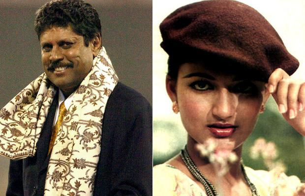 Kapil Dev was one person Sarika fell for. The two were a pair for quite some time before Sarika married Kamal Hassan and Kapil Dev married Romi.