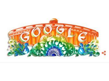 70 years of Independence: Google celebrates with Independence day with a parliament themed doodle