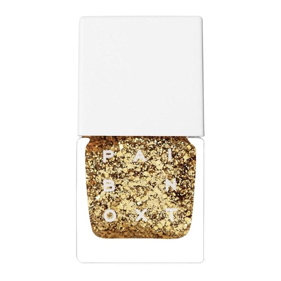 <em>Goldfinger</em> may be nearly 60 years old, but gold fingertips are very now. Your manicure can outshine the summer sun with a polish like Paintbox's Versace-inspired Like Gilded, which, unlike so many other glitter polishes, actually entirely covers nails in two coats.