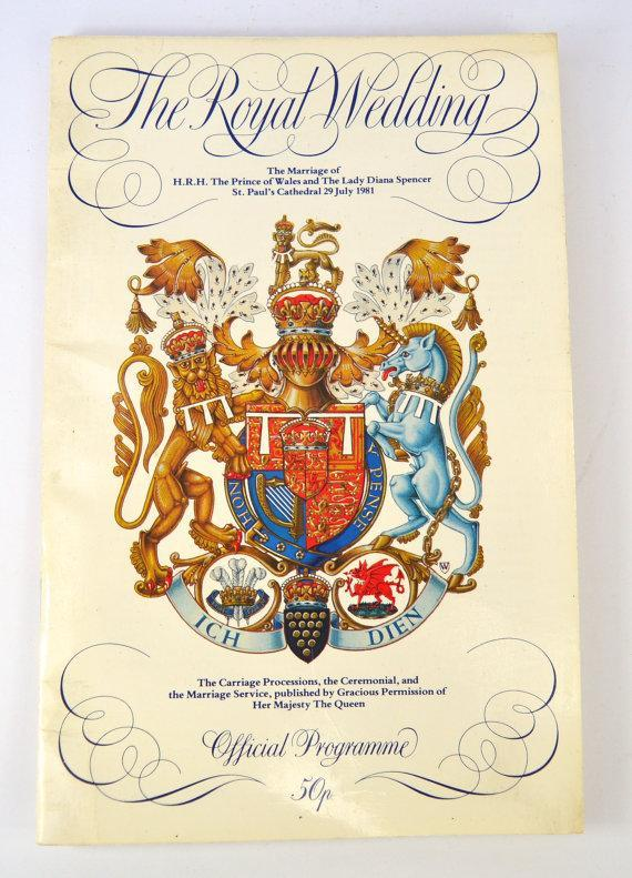 """<p>Etsy is undoubtedly the best place to source nostaglic pieces from Princess Diana's past. Avid royal fans will be pleased to learn that official programs from the royal wedding of 1981 are available to purchase. <br><em><a rel=""""nofollow noopener"""" href=""""https://www.etsy.com/uk/listing/468091675/1981-royal-wedding-official-programme?ga_order=price_desc&ga_search_type=all&ga_view_type=gallery&ga_search_query=princess%20diana&ref=sr_gallery_1"""" target=""""_blank"""" data-ylk=""""slk:Etsy"""" class=""""link rapid-noclick-resp"""">Etsy</a>, £44</em> </p>"""