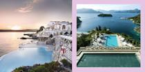 <p>If there's one thing keeping us positive right now, it's dreaming of the future. Long nights in the pub, hugging your nearest and dearest, and jumping into a beautiful pool during a warm afternoon on holiday. Here are 22 of the world's best pools, to remind you of how good travelling can feel. Because if we can't be in one, the next best thing is looking at one. You're welcome.</p>