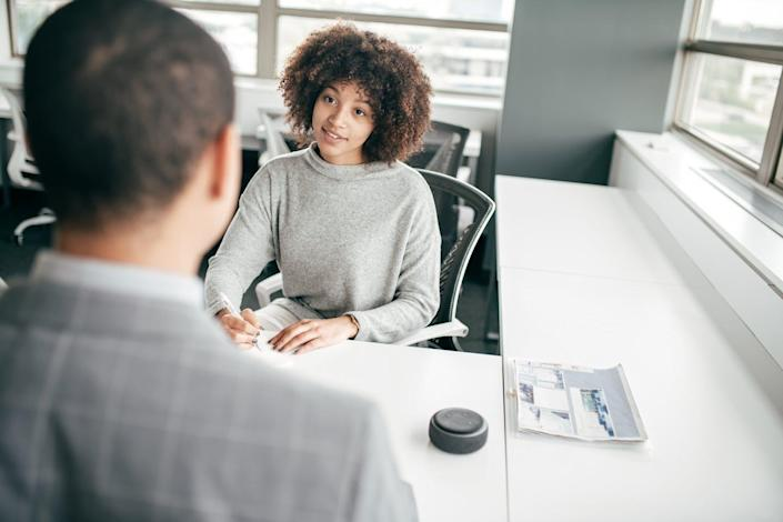 "<span class=""caption"">AI may not cut discrimination out of the hiring process.</span> <span class=""attribution""><a class=""link rapid-noclick-resp"" href=""https://www.gettyimages.com/detail/photo/starting-online-business-today-royalty-free-image/1189017784?adppopup=true"" rel=""nofollow noopener"" target=""_blank"" data-ylk=""slk:kate_sept2004/Getty Images"">kate_sept2004/Getty Images</a></span>"