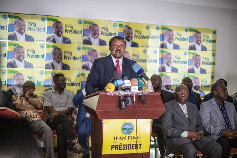 Gabon opposition candidate Jean Ping has accused the Cenap electoral commission of tampering with the outcome of the poll (AFP Photo/Marco Longari)