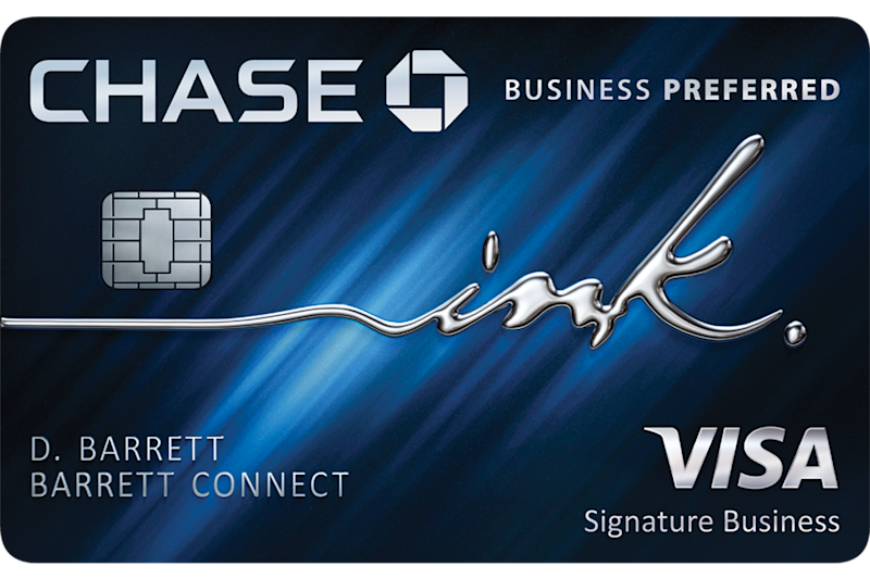 A Chase Ink card.