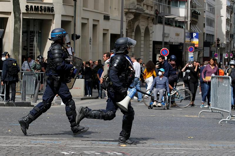 French Police Arrest Hundreds Due to Clashes After Algeria Reach Africa Cup of Nations Final