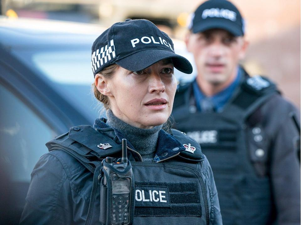 Kelly Macdonald in Line of Duty series six, episode five (BBC/World Productions/Steffan Hill)