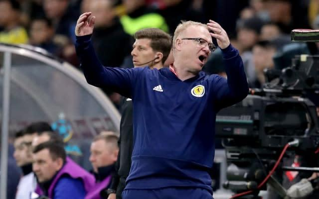 McLeish discovered his health had become the subject of speculation just before losing his job as national team boss last April (Adam Davy/PA)