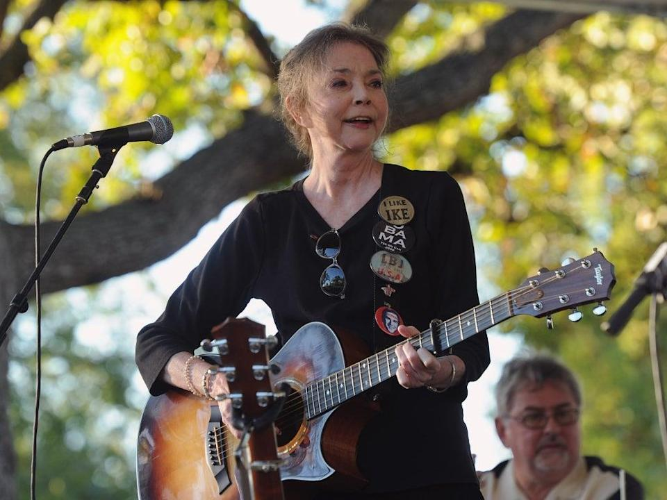 Griffith performs at the Americana Music festival in 2011 (Getty)
