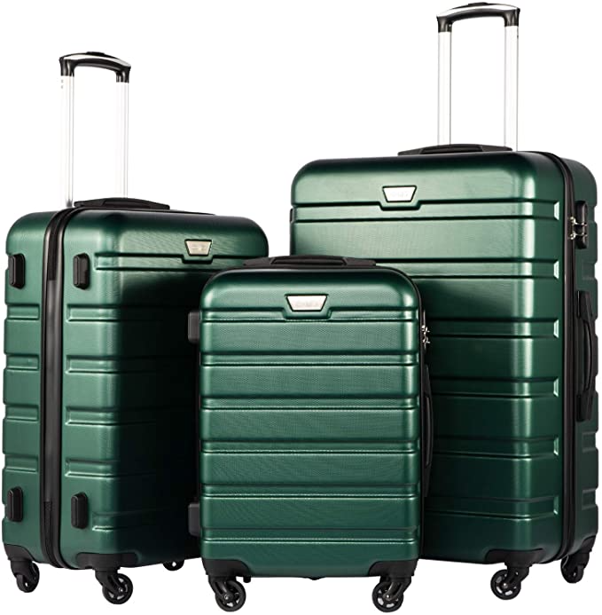 """<strong><h3><strong><h2>Best Luggage Set</h2></strong></h3></strong><br><strong>Coolife 3-Piece Hardshell Luggage Set</strong><br>This lightweight hardshell 3-piece set includes a 20-inch, 24-inch, and 28-inch rolling suitcase. Each one features 360° wheels, ergonomically designed handles, and interior mesh elasticated zip pockets. <br><br><strong>The Hype:</strong> 4.7 out of 5 stars; 8,293 reviews on <a href=""""https://www.amazon.com/Coolife-Luggage-Expandable-Suitcase-20in24in28in/dp/B07C2QCB3G/#customerReviews"""" rel=""""nofollow noopener"""" target=""""_blank"""" data-ylk=""""slk:Amazon"""" class=""""link rapid-noclick-resp"""">Amazon</a> <br><br><strong>Luggage Lovers Say: </strong>""""Great Luggage at a Great Price! There is nothing about these that I DIS-LIKE! They are brightly colored, which; for me, makes it easy to find them on the airport luggage turnstile, and; all the features are fantastic - they will serve you well! Handles are a MUST, and they are easy to pull and push and turn! I like that you can stack them inside one another to store, and; they are worth the price - at just about $100 for the entire set of 3. Truly fabulous indeed!!"""" — Roger, Amazon Reviewer<br><br><strong>Coolife</strong> Hardshell 3 Piece Suitcase Set, $, available at <a href=""""https://amzn.to/3w1Qik0"""" rel=""""nofollow noopener"""" target=""""_blank"""" data-ylk=""""slk:Amazon"""" class=""""link rapid-noclick-resp"""">Amazon</a>"""
