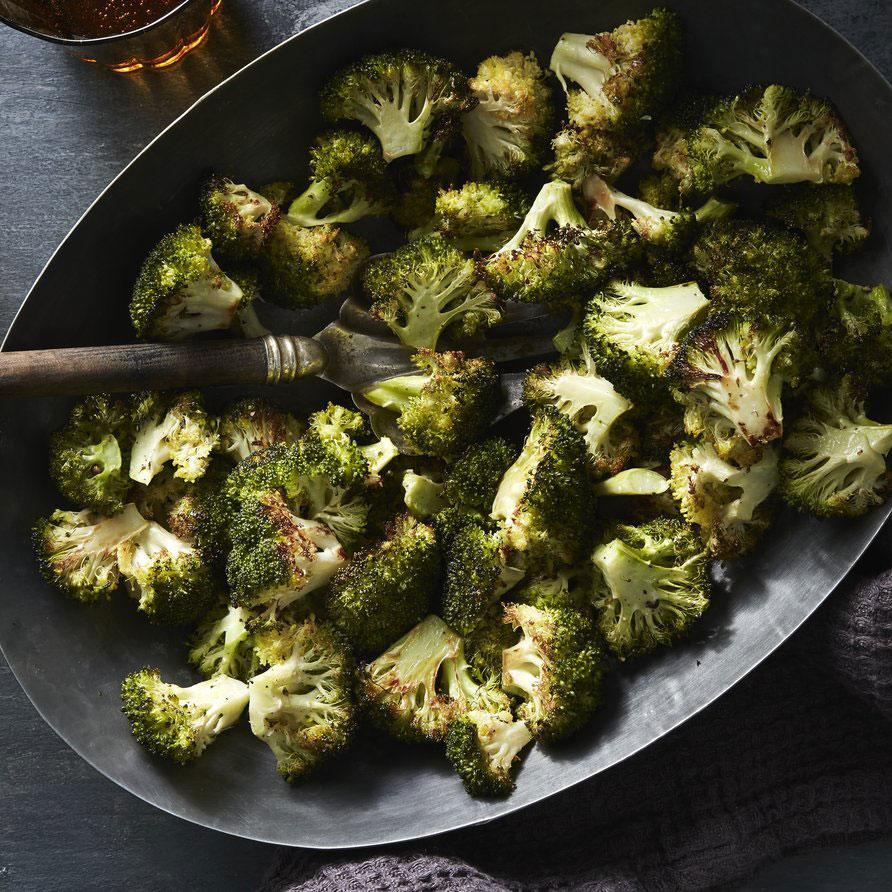 """<p>Roasting, as opposed to steaming, deepens the flavor and color of broccoli, and makes it a nice change from familiar <a href=""""https://www.myrecipes.com/t/vegetables/broccoli"""" rel=""""nofollow noopener"""" target=""""_blank"""" data-ylk=""""slk:steamed broccoli"""" class=""""link rapid-noclick-resp"""">steamed broccoli</a>.</p>"""