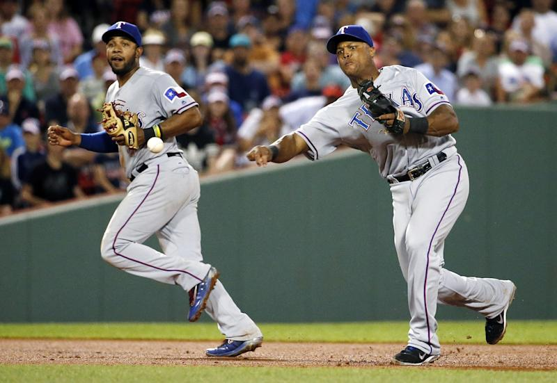 Adrian Beltre and Elvis Andrus on