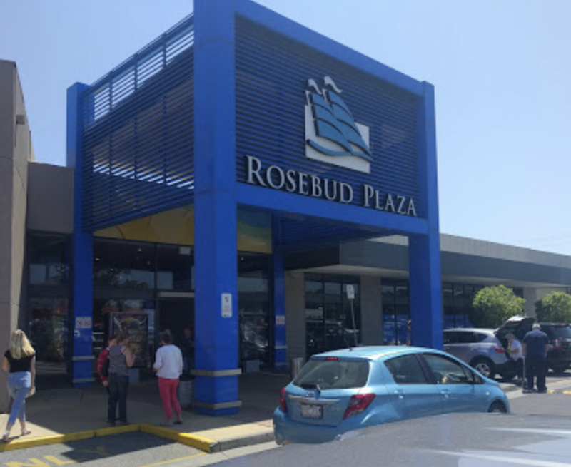The incident unfolded at the Rosebud Plaza about 10.15am. Source: Google Maps/Nathan McVay
