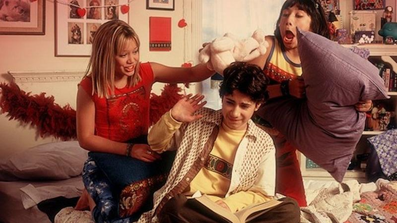 Lizzie, Gordo and Miranda on Lizzie McGuire