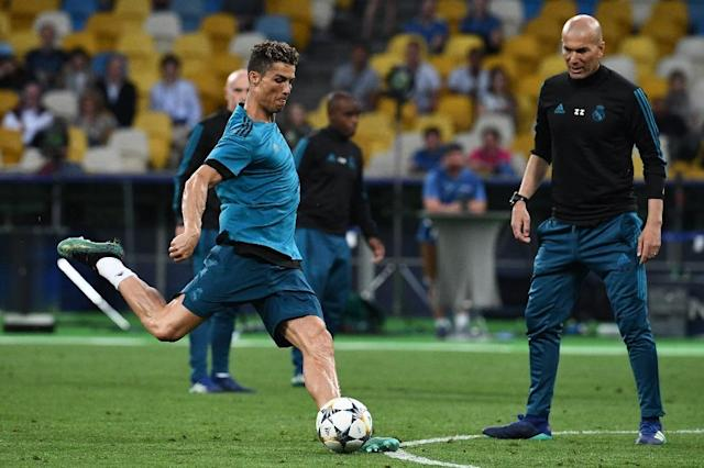 Cristiano Ronaldo is aiming to win the Champions League for the fifth time (AFP Photo/Franck FIFE)