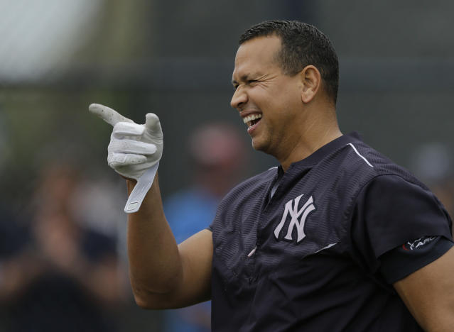 Alex Rodriguez claims he took the Subway early in his career. (AP Photo/Chris O'Meara)