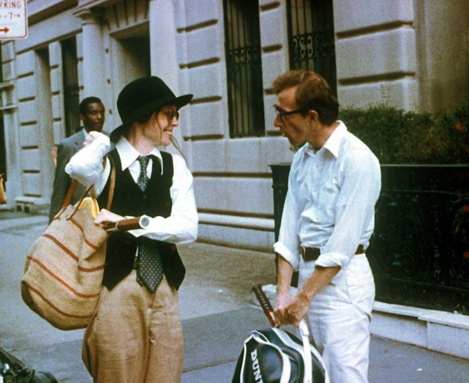 Diane Keaton and Woody Allen in Annie Hall | Brian Hamill/United Artists/Photofest