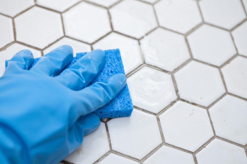 TikTok users are using toilet cleaner to clean their tile grout. (Getty Images)