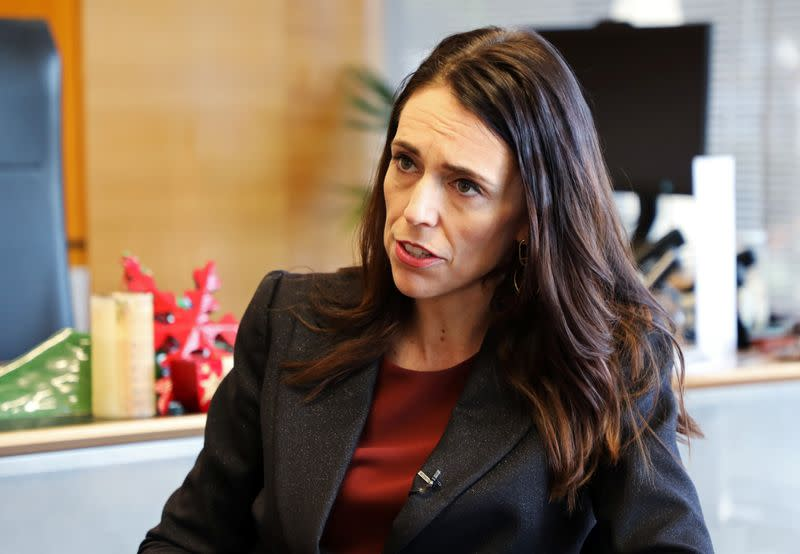 NZ's Ardern starts election year with big infrastructure spending pledge