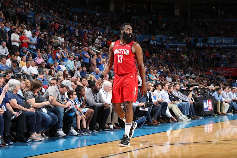 c302a289f0e2 ...  13 of the Houston Rockets. James Harden needs to get past the  Warriors. (Getty Images)