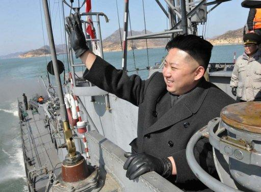 """Kim Jong-Un, aged in his late 20s, has been proclaimed the """"great successor"""""""