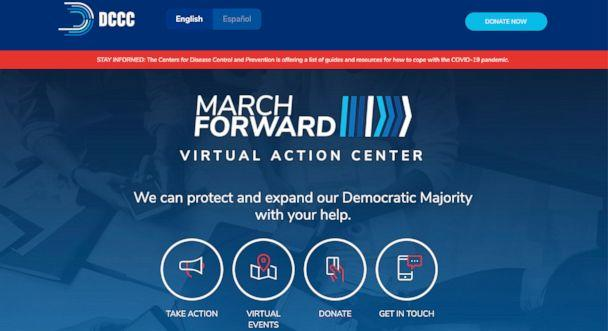 PHOTO: The Virtual Action Center is a new organizing platform from the DCCC launching on May 1, 2020. (Democratic Congressional Campaign Committee)