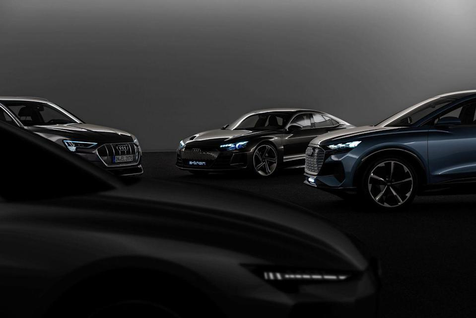 """<p><strong><strong>Audi </strong></strong>plans to have 30 electrified vehicles by 2025, and 20 of those models will be EVs. </p><p><strong>BMW</strong> said as early as 2017 that it expects sales of hybrid and electric vehicles to account for 15 to 25 percent of its global sales by 2025.<br></p><p><strong>Ford</strong> says it <a href=""""https://www.caranddriver.com/news/a35432253/ford-ev-commitment-announced/"""" rel=""""nofollow noopener"""" target=""""_blank"""" data-ylk=""""slk:will invest"""" class=""""link rapid-noclick-resp"""">will invest</a> $29 billion in EVs through 2025. </p><p><a href=""""https://www.caranddriver.com/news/a34730248/gm-accelerates-electrification-plans/"""" rel=""""nofollow noopener"""" target=""""_blank"""" data-ylk=""""slk:GM announced"""" class=""""link rapid-noclick-resp""""><strong>GM</strong> announced</a> it will invest $27 billion in EVs through 2025. The company plans to have 30 EVs on the market, 20 of which will be available in North America.</p><p><a class=""""link rapid-noclick-resp"""" href=""""https://www.caranddriver.com/news/g29994375/future-electric-cars-trucks/"""" rel=""""nofollow noopener"""" target=""""_blank"""" data-ylk=""""slk:All the Future EVs"""">All the Future EVs</a></p>"""