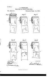 Seth Wheeler, the man who invented the toilet roll, patented the correct way to hang toilet roll - over. (Seth Wheeler/Google Patents)
