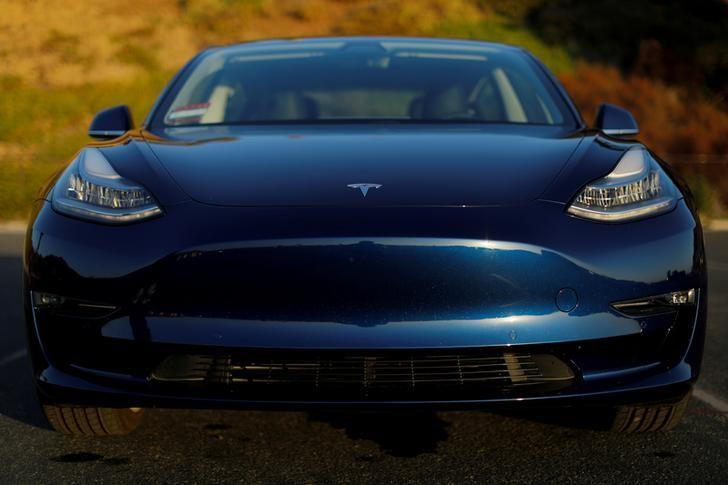 File Photo A 2018 Tesla Model 3 Electric Vehicle In Cardiff California