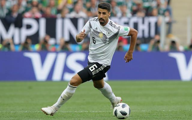 "An unimpressed Sami Khedira brushed off a cheap Swedish publicity stunt on Thursday by insisting Germany would recover from their dismal start to become the first country to retain the World Cup for 56 years. Germany are facing a make-or-break game against Sweden in Sochi on Saturday after losing 1-0 to Mexico in their opening match in Moscow. Mexico's victory, coupled with Sweden's win over South Korea, has left the world champions with no margin for error. A Swedish television reporter attempted to have a little fun at Germany's expense by handing Khedira a couple of fake airline tickets during an interview on Thursday morning in mock anticipation of Joachim Low's side being forced to catch an early plane home from Russia. Brazil were the last country to retain the World Cup, in 1962, and Juventus midfielder Khedira responded to the prank by Expressen TV's Ludwig Holmberg by calming declaring: ""Thank you, but we won't need them [the tickets]. We think we can win this game. I think we'll need them. I think we'll need them on the 16th July [the day after the final in Moscow]. ""We know Sweden are tough when they play at their best but we also know that we have a strong team and we are sure we will win this match."" World Cup 2018 