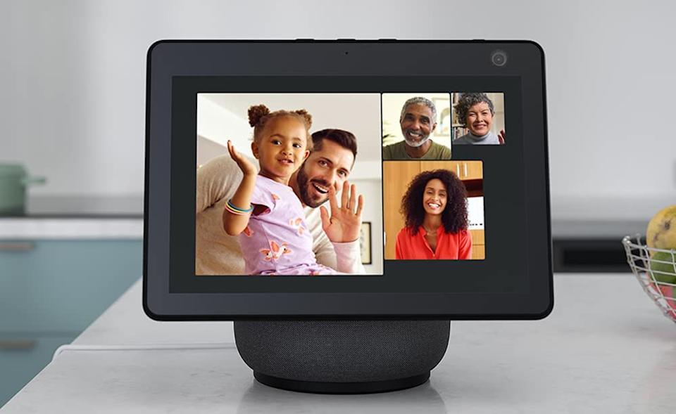Easily connect with — or ignore, it's really up to you — family and friends via the Echo Show 10. (Photo: Amazon)