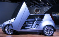Cadillac's Concept car is unveiled at the LA Auto Show in Los Angeles, California, November 17, 2010. REUTERS/Lucy Nicholson (UNITED STATES - Tags: BUSINESS TRANSPORT)