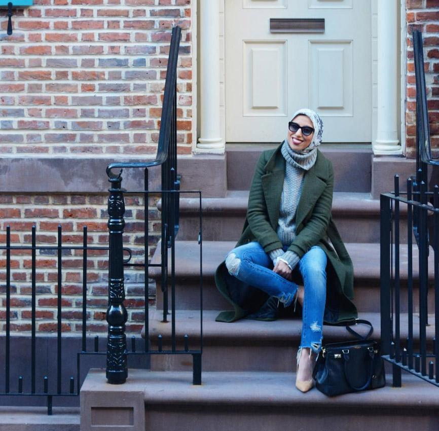 <p>Haute Hijab may be a clothing line, but its CEO Melanie has an array of looks to check out on Instagram whether you wear a hijab or not [Photo: Instagram/hautehijab] </p>