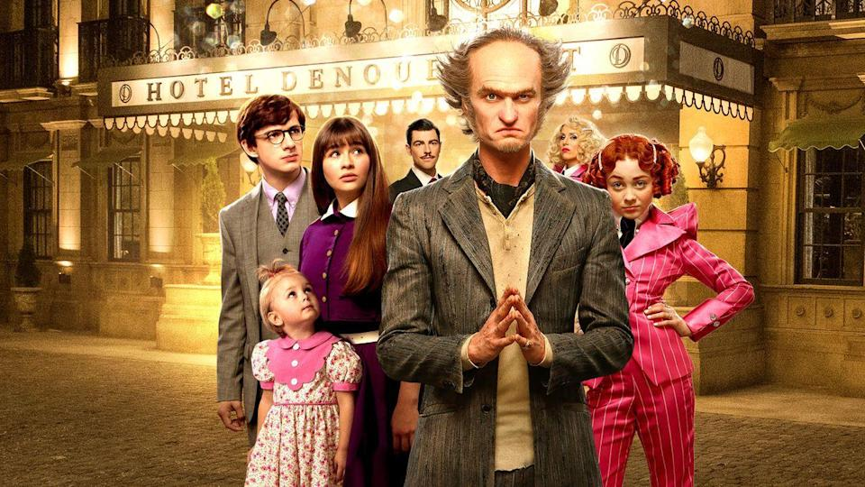 """<p>It's possible they'll be so taken by this show, about the strange occurrences that happen to three orphaned siblings, they'll go back and read the book series it was based on. And parents will definitely enjoy the stylings of Neil Patrick Harris as the enigmatic Count Olaf. The series wrapped up at the beginning of 2019, ending after three seasons.</p><p><a class=""""link rapid-noclick-resp"""" href=""""https://www.netflix.com/watch/80114990"""" rel=""""nofollow noopener"""" target=""""_blank"""" data-ylk=""""slk:WATCH NOW"""">WATCH NOW</a></p>"""
