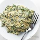 "<p>Thick creamy spinach with cream cheese is rich and decadent tasting but free of those pesky carbs and sugar in this keto-approved makeover from <a href=""https://www.wholesomeyum.com/easy-low-carb-keto-creamed-spinach-recipe/"" rel=""nofollow noopener"" target=""_blank"" data-ylk=""slk:Wholesome Yum."" class=""link rapid-noclick-resp"">Wholesome Yum.</a> So, grab a spoonful and enjoy this Thanksgiving. Plus, it takes just 15 minutes to whip up.</p>"