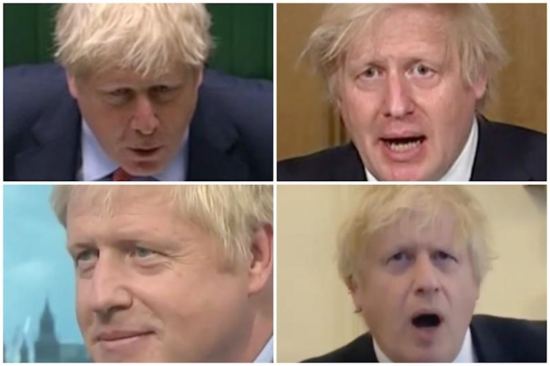 Clockwise from top left, Boris Johnson responds to questions about a major coronavirus report, Marcus Rashford, no recourse to public funds and the General Agreement on Tariffs and Trade.