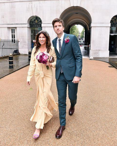 "<p>Author Bella and Radio 1 DJ Greg James had a low-key ceremony at a London registry office where she wore a stunning pale yellow Jacquemus silk dress. She changed into a polka dot number for the big party in the evening that ended in a 4am MacDonalds hunt. A girl after our own heart. </p><p><a href=""https://www.instagram.com/p/BoFRchdnyUp/"" rel=""nofollow noopener"" target=""_blank"" data-ylk=""slk:See the original post on Instagram"" class=""link rapid-noclick-resp"">See the original post on Instagram</a></p>"