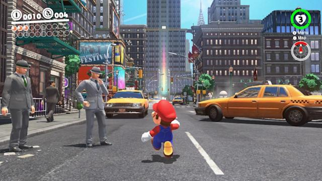 New Donk City is a standout among 'Odyssey's' many quirky worlds.