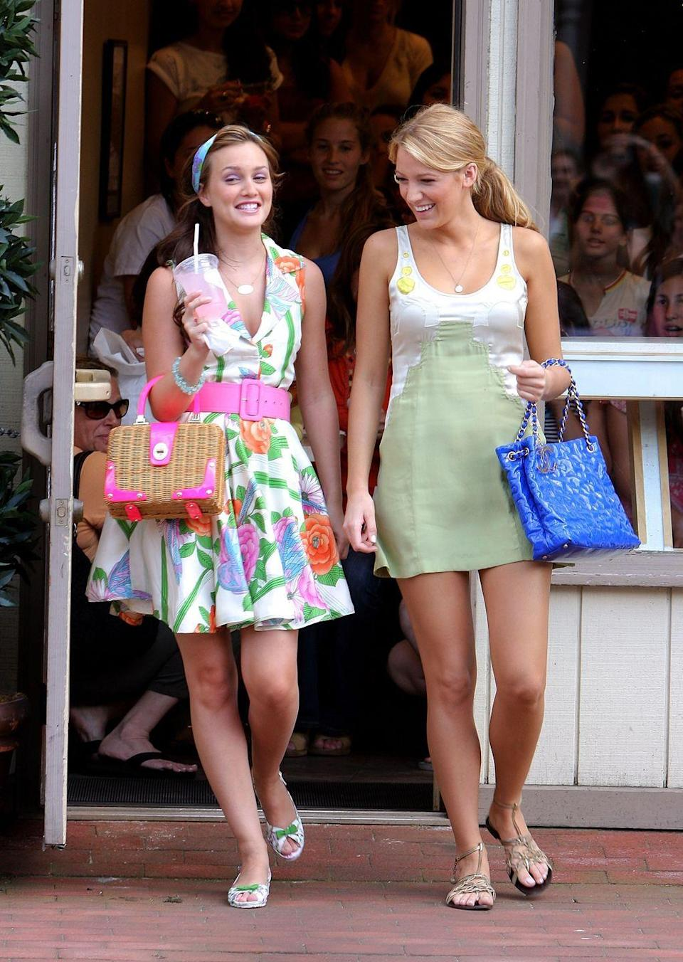 """<p>The queen of the Upper East Side will forever remain a source of inspiration and daydreaming for the sartorial set. We just can't escape her influence. For Halloween, all you'll need is a glamorous floral dress, a bright-colored belt, and the S to your B.</p><p><strong>Get the look: Zimmermann</strong> teddy floral mini dress, $750, <a href=""""https://go.redirectingat.com?id=74968X1596630&url=https%3A%2F%2Fshop.harpersbazaar.com%2Fdesigners%2Fzimmermann%2Fteddy-floral-mini-dress-68933.html&sref=https%3A%2F%2Fwww.harpersbazaar.com%2Ffashion%2Ftrends%2Fg2339%2Ffashionable-halloween-costume-ideas%2F"""" rel=""""nofollow noopener"""" target=""""_blank"""" data-ylk=""""slk:shopbazaar.com"""" class=""""link rapid-noclick-resp"""">shopbazaar.com</a>. </p><p><a class=""""link rapid-noclick-resp"""" href=""""https://go.redirectingat.com?id=74968X1596630&url=https%3A%2F%2Fshop.harpersbazaar.com%2Fdesigners%2Fzimmermann%2Fteddy-floral-mini-dress-68933.html&sref=https%3A%2F%2Fwww.harpersbazaar.com%2Ffashion%2Ftrends%2Fg2339%2Ffashionable-halloween-costume-ideas%2F"""" rel=""""nofollow noopener"""" target=""""_blank"""" data-ylk=""""slk:SHOP"""">SHOP</a> </p>"""
