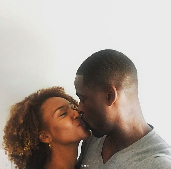 """<p>This is them — after 11 years of marriage! """"Don't know what I'd do without you, Bird,"""" the <em>This is Us</em> actor wrote to his wife and college sweetheart, Ryan Michelle Bathe, on their anniversary. """"Love ya lots!"""" (Photo: <a href=""""https://www.instagram.com/p/BYHNZS-Ha3c/?taken-by=sterlingkbrown"""" rel=""""nofollow noopener"""" target=""""_blank"""" data-ylk=""""slk:Sterling K. Brown via Instagram"""" class=""""link rapid-noclick-resp"""">Sterling K. Brown via Instagram</a>) </p>"""