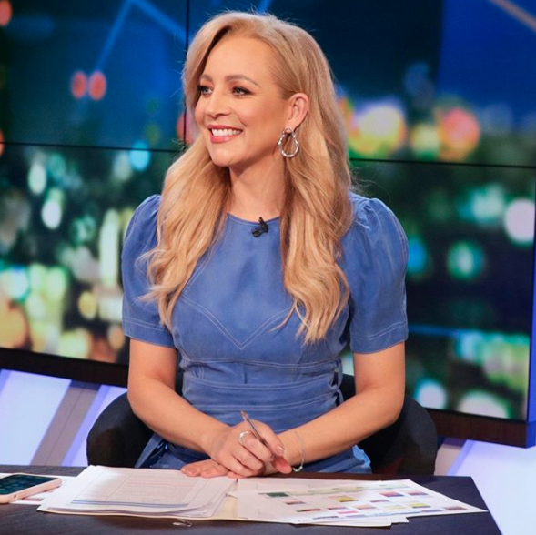 Carrie Bickmore on The Project shares parenting macaron baking fail