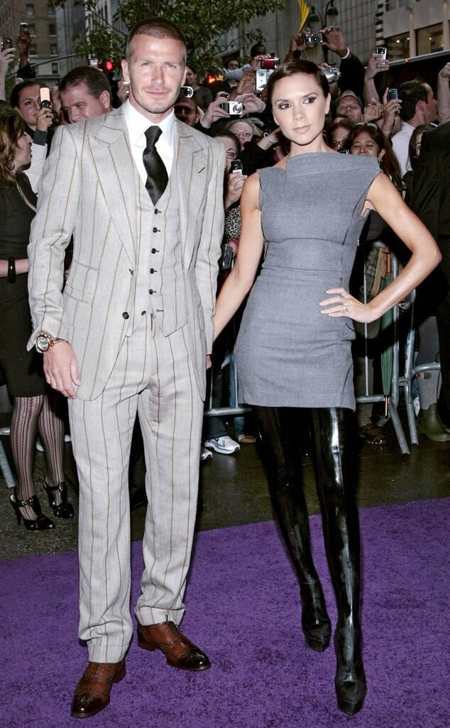 ESC: David Beckham and Victoria Beckham, Style Evolution, 2008