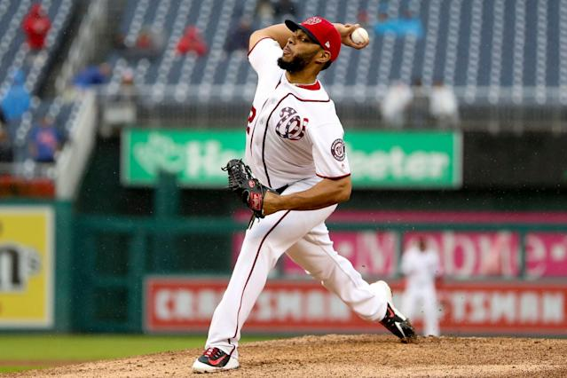 Jimmy Cordero has a live arm and not much else. (Andrew Harnik/AP)