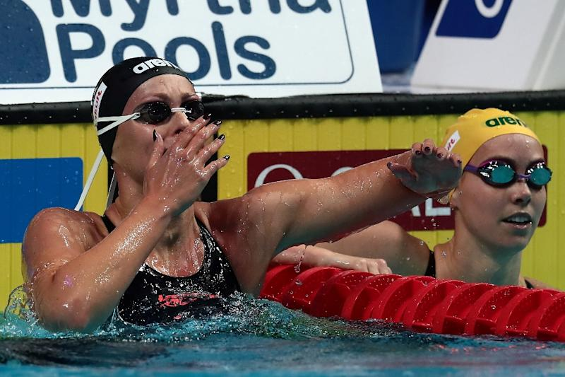 Katie Ledecky eases to third gold of World Championships in 1500m freestyle