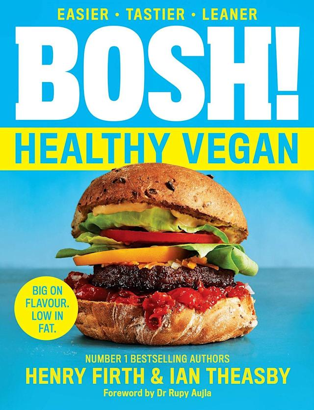 """<p>With 80 delicious, plant-based recipes and nourishing meal plans the Bosh! boys are back to help you stay on track whatever your healthy eating goal.<br></p><p><a class=""""link rapid-noclick-resp"""" href=""""https://www.amazon.co.uk/BOSH-Healthy-Vegan-Henry-Firth/dp/000835295X/ref=zg_bsnr_66_4?_encoding=UTF8&psc=1&refRID=FKNJHB07QFJJ7CRSG6CD&tag=hearstuk-yahoo-21&ascsubtag=%5Bartid%7C2159.g.28871146%5Bsrc%7Cyahoo-uk"""" rel=""""nofollow noopener"""" target=""""_blank"""" data-ylk=""""slk:PRE-ORDER NOW"""">PRE-ORDER NOW</a> <strong>Amazon</strong></p>"""